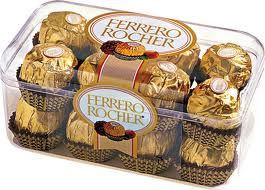 16 PIECE FERRO ROCHER CHOCOLATE